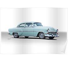 1954 Chevrolet 'Mild Custom' Coupe Poster