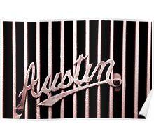 Austin Badge Poster