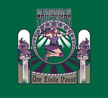 Roller Derby Nouveau: The Massacre of Spring (French) Womens Fitted T-Shirt