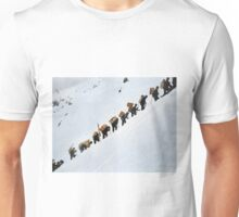 "Climbing the ""Golden Stair"" Unisex T-Shirt"