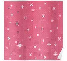 Pretty Pink Starlight (8bit) Poster