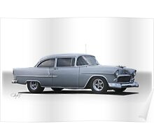 1955 Chevrolet  210 'Post Coupe' Poster