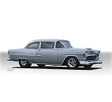 1955 Chevrolet  210 'Post Coupe' Photographic Print