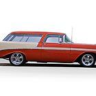 1956 Chevrolet 'Nomad' Wagon by DaveKoontz