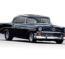 1956 Chevrolet Bel Air Hardtop  by DaveKoontz