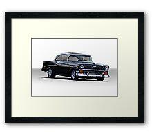 1956 Chevrolet Bel Air Hardtop  Framed Print