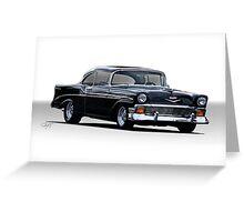1956 Chevrolet Bel Air Hardtop  Greeting Card