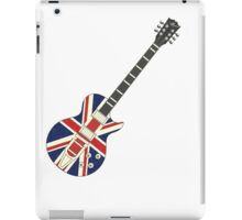Mod British Union Jack Guitar iPad Case/Skin