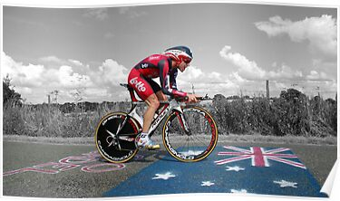CADEL EVANS, LE TOUR DE FRANCE by Eamon Fitzpatrick