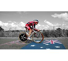 CADEL EVANS, LE TOUR DE FRANCE Photographic Print