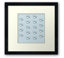 Pokemon Cute Marill  Framed Print