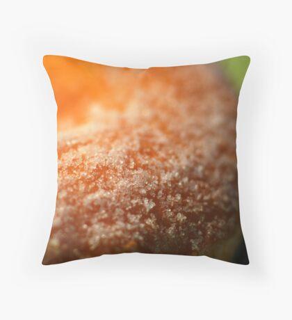 Sugar Doughnut Texture Throw Pillow