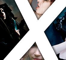 X - The Cover to my first book by Ian X.
