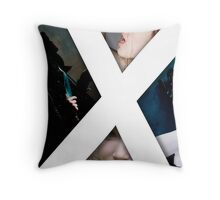 X - The Cover to my first book Throw Pillow