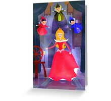 The Sleeping Princess Greeting Card