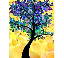 Colorful abstract tree Photographic Print
