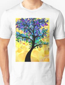 Colorful abstract tree Unisex T-Shirt