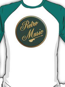 Retro Music  Sign T-Shirt
