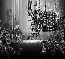 Welcome to the Machine by Byron Stoddard