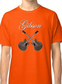 Gibson Es 335 Gray Classic T-Shirt