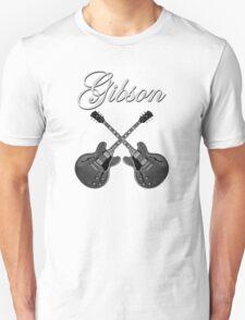 Gibson Es 335 Gray Unisex T-Shirt