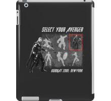 Select Your Avenger iPad Case/Skin