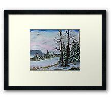 Winter Serenity Framed Print