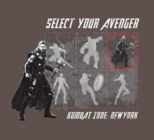 Select Your Avenger T-Shirt