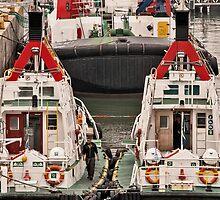 Tugboats by awefaul