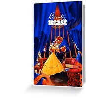 The Beauty and the Beast Greeting Card