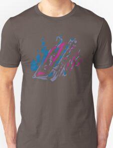 Music Tape Cassette Flames Unisex T-Shirt