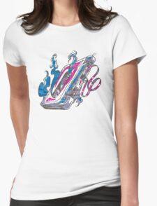 Music Tape Cassette Flames T-Shirt