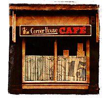 Corner House Cafe Photographic Print