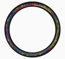 64 symbols circle (colour) by telberry