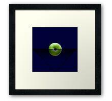 AppleBlue Framed Print