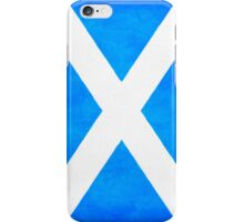 Vintage Flag Of Scotland - The Saltire iPhone Case/Skin