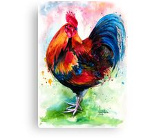 Mr. Rooster Canvas Print