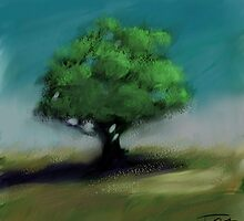 Lonely tree by 2Herzen