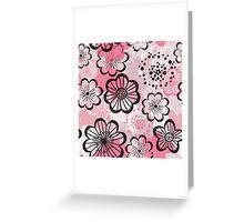 Pattern flowered Greeting Card