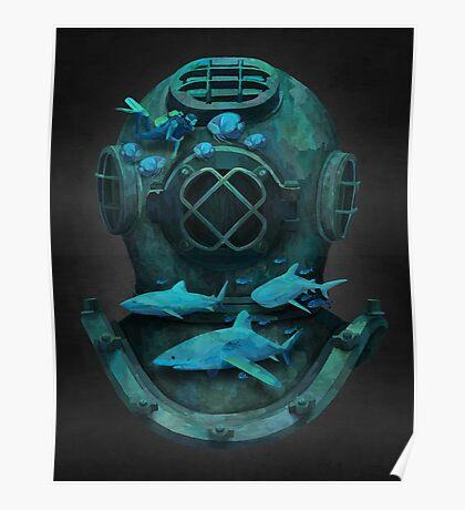 Deep diving Poster