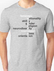 Feminism: Intersect Unisex T-Shirt