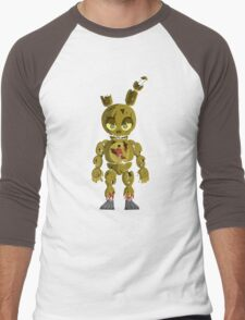 Chibi Springtrap Men's Baseball ¾ T-Shirt