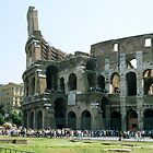 Roman Coliseum, Rome, Italy by hojphotography
