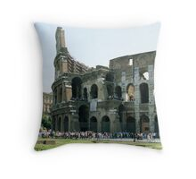 Roman Coliseum, Rome, Italy Throw Pillow