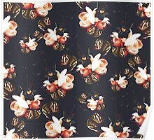 Floral Fall Poster