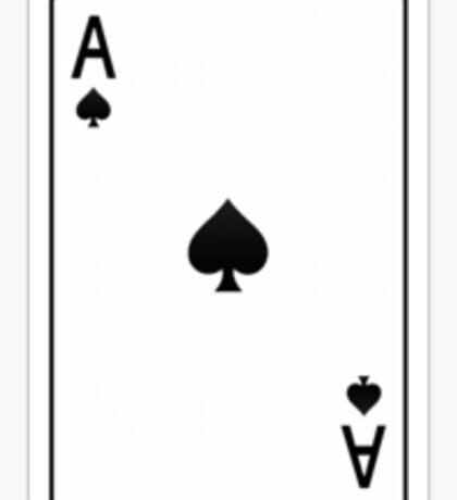 Spades: Ace Sticker