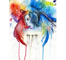 Give Me Love - Watercolor Photographic Print