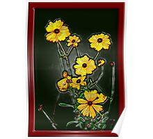 Wild Uncut Bouquet Poster