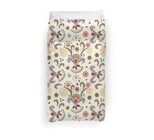 Wired Flower Pattern Duvet Cover