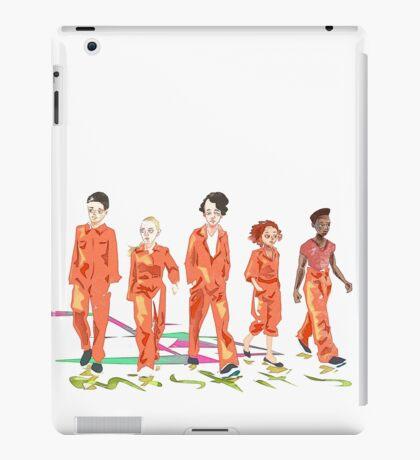 #4 misfits iPad Case/Skin